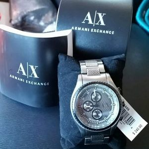 Men's Armani Tungsten Watch